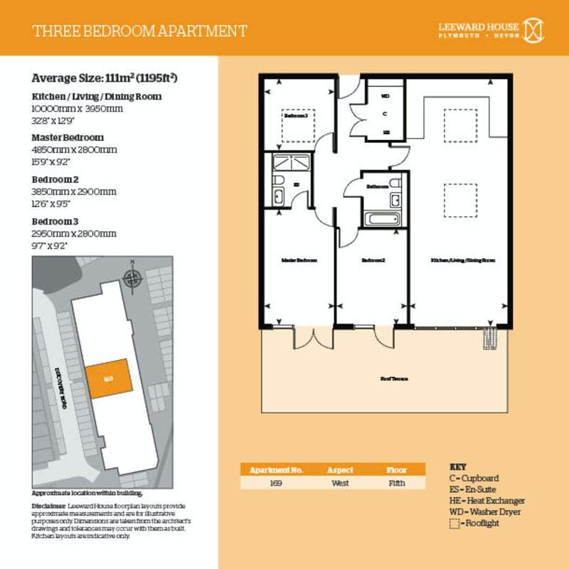 Leeward House, 169 Discovery Road floorplan