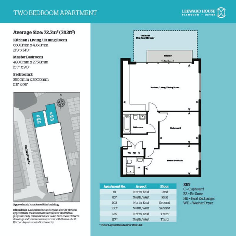Leeward House, 103 Discovery Road floorplan