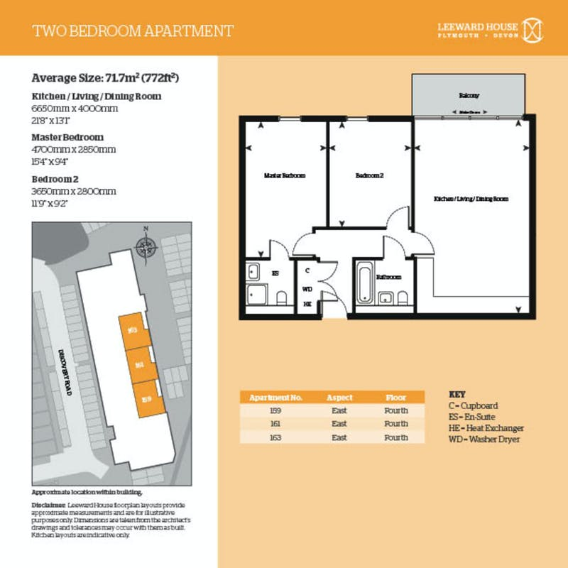 Leeward House, 159 Discovery Road floorplan