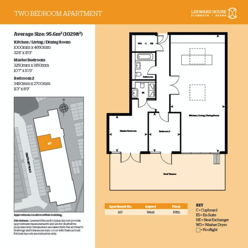 Leeward House, 167 Discovery Road floorplan