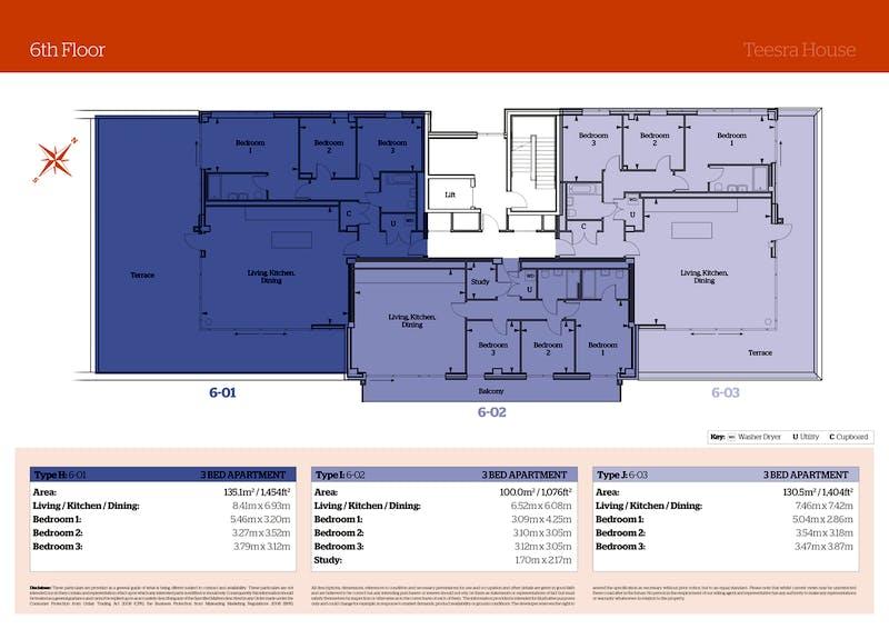 Teesra House, Mount Wise, PLymouth floorplan